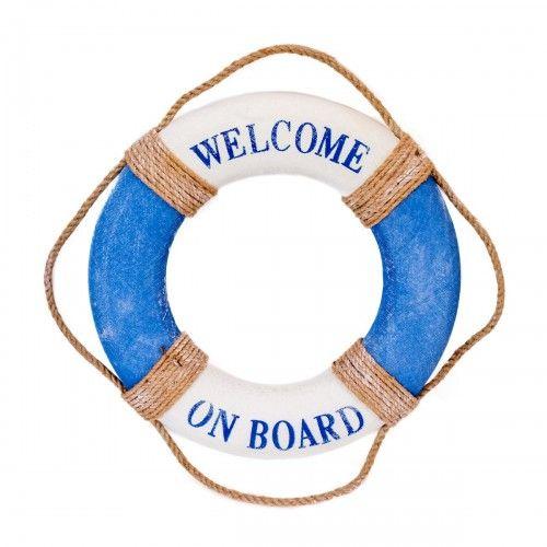 Sandin | pajangan hiasan gantungan sailor pantai biru welcome dekorasi interior design