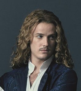 The amazing Evan Williams, as Chevalier de Lorraine on the canal+ series Versailles
