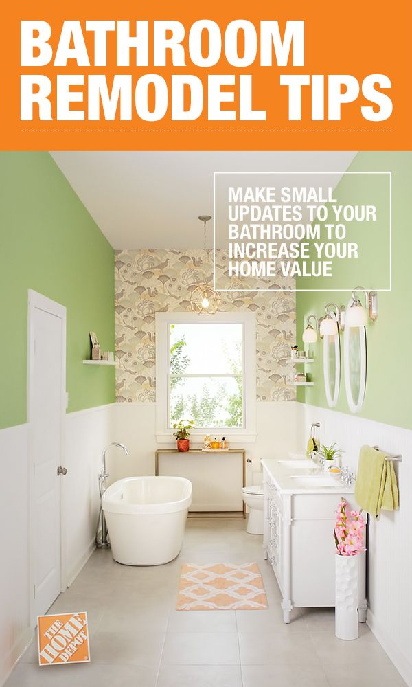 How To Update Your Vanity And Faucet Home Depot Bathroom Bathroom Renovations Interior Design Living Room