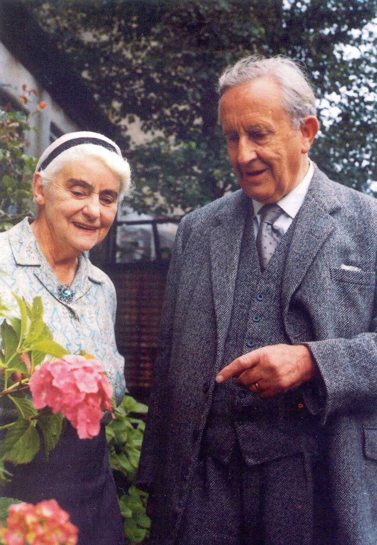 John Ronald Reuel and Edith Tolkien
