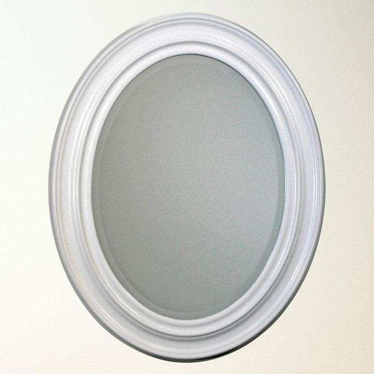 White Oval Bathroom Mirror Bathroom Mirrors Pinterest Oval Bathroom Mirror Bathroom