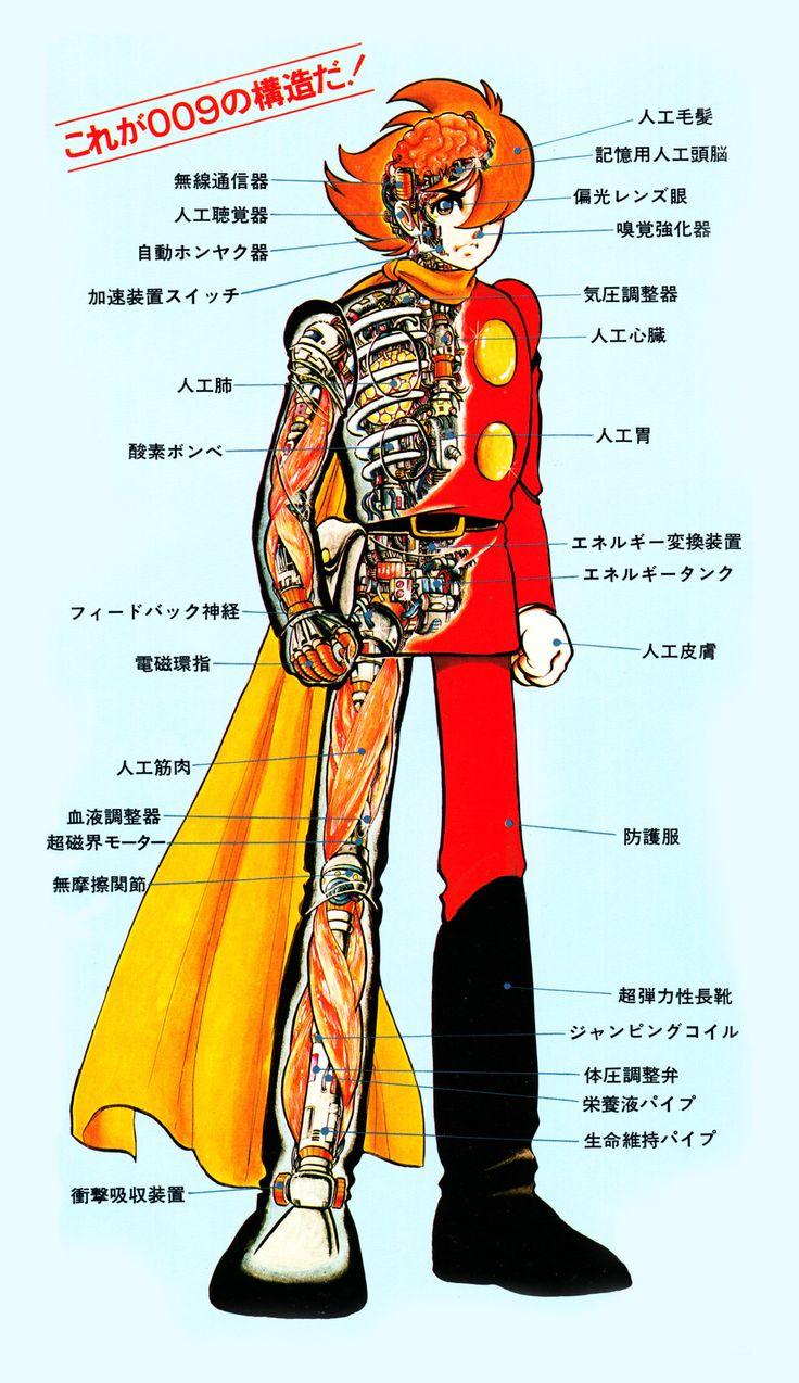 Cyborg 009 by by Shotaro Ishinomori   サイボーグ 009, 石ノ森 章太郎 の 作品