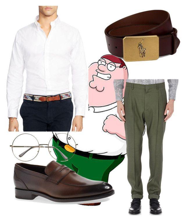 peter griffin by megan-osh on Polyvore featuring polyvore мода style Polo Ralph Lauren Lanvin Ermenegildo Zegna Ralph Lauren fashion clothing