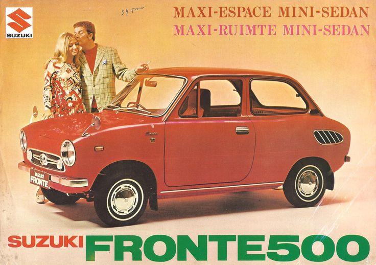 1963 Suzuki Fronte 500.