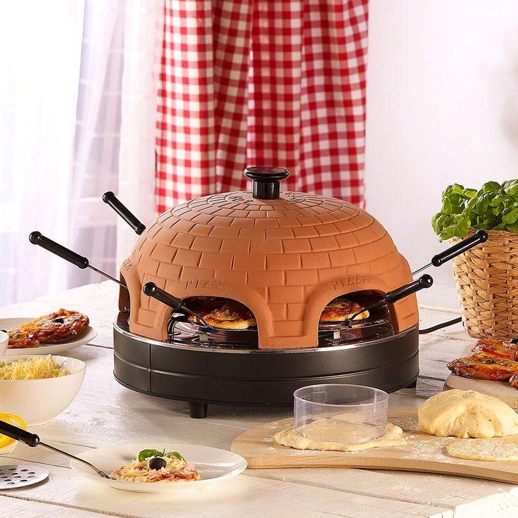 Trebs Four à pizza en terre cuite pour 6 personnes avec accessoires: Amazon.fr…
