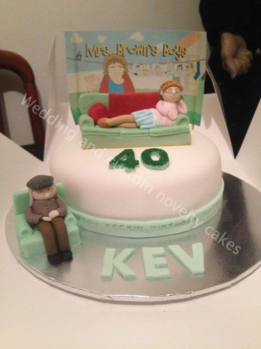 Mrs Browns Boys Cake 100 Edible Cool Cakes Pinterest