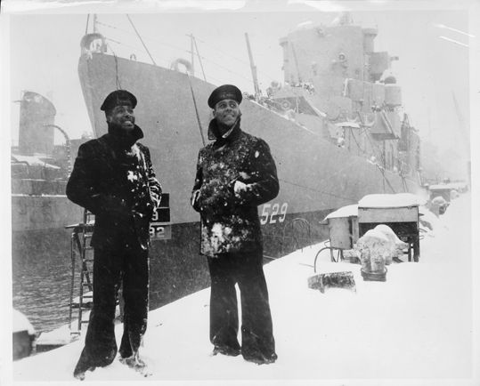 Great old photos of African Americans in the US Navy, from the National Archives in Waltham, MA.