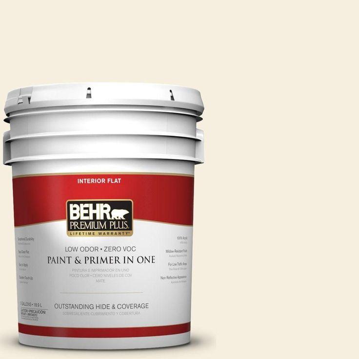 5-gal. #BXC-35 Cotton Field Flat Interior Paint