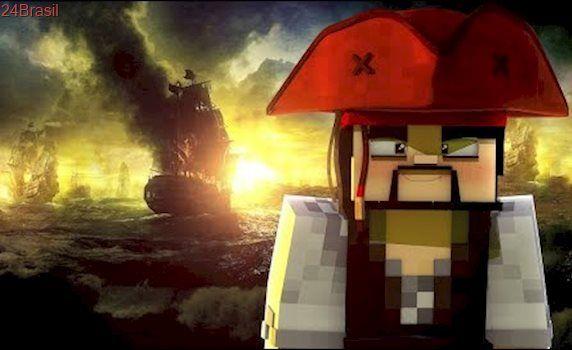 Minecraft: PIRATAS DO CARIBE! (Esconde-Esconde)
