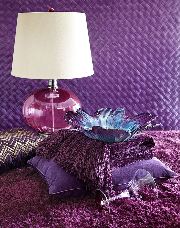 Reminder: Purple is a signature  Scorpio color.