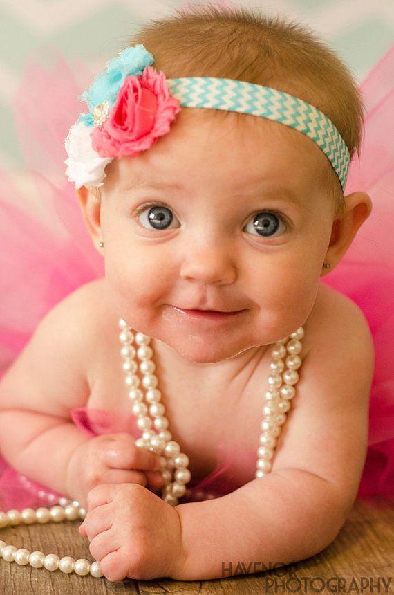 SALE-Newborn Headband-Baby Girl Headband-Baby Headband-Baby-Baby Girl-Spring Headband-Baby Headbands-Infant Headband-Headband