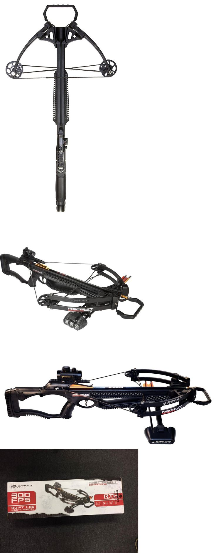 Crossbows 33972: Brand New!! Barnett Recruit Compound Crossbow Package With Premium Red Dot Scope BUY IT NOW ONLY: $199.0