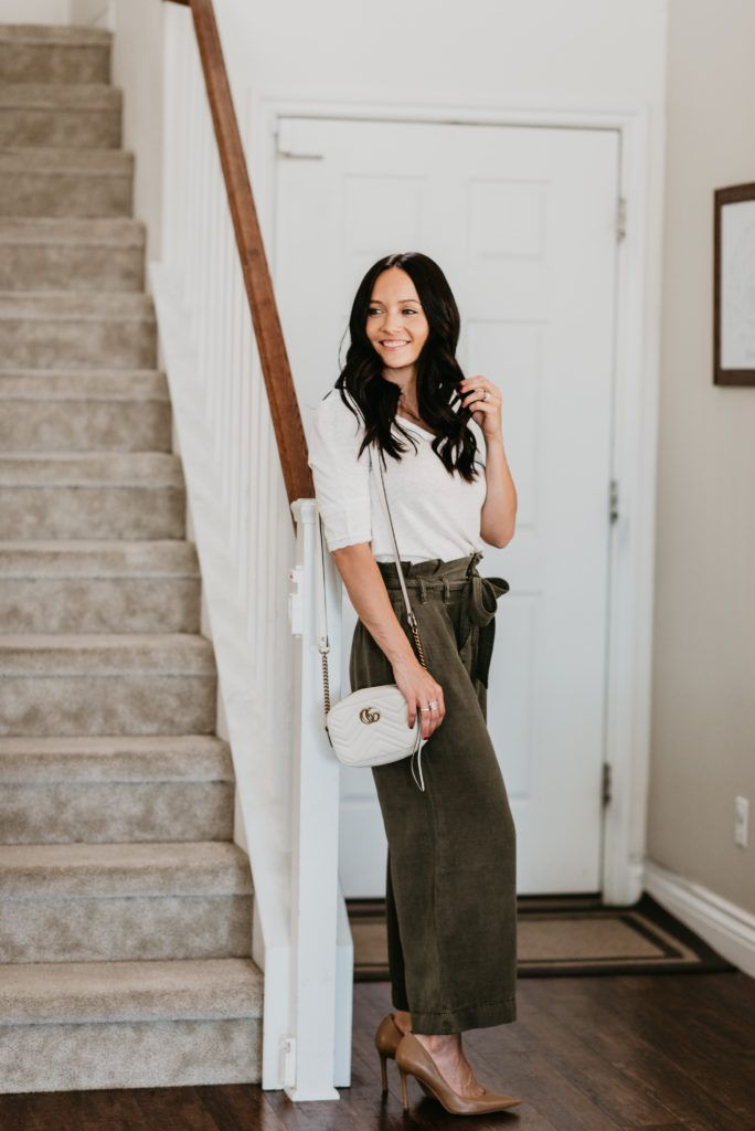 cda23f94e7 5 Essential Tips to Style Wide Leg Pants this Season | Outfits ...