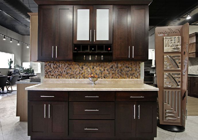 Dark kitchen cabinets at menards - Menards kitchen ...