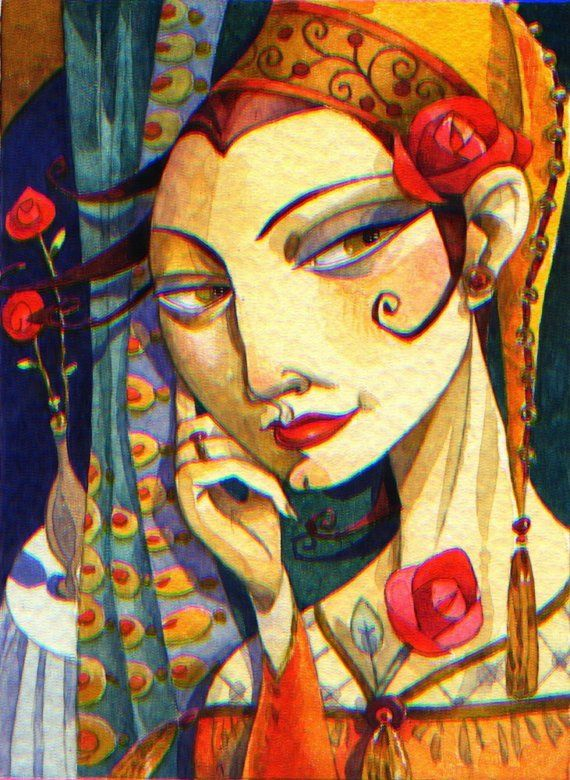 sophia scheming by artmeister on Etsy By David Galchutt / Artmeister