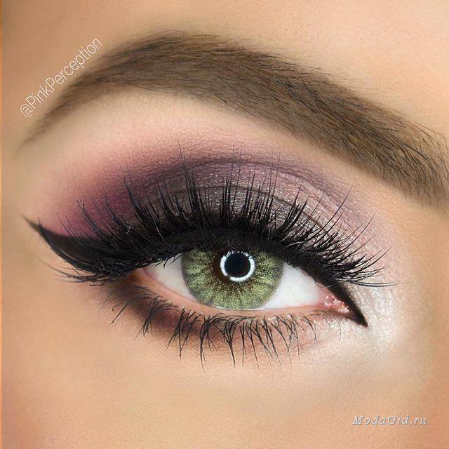 Макияж: Макияж для зеленых глаз: фото и видео