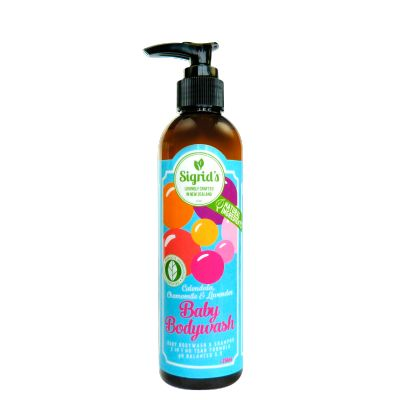 Sigrid's Baby Body Wash Sigrid's luscious baby body wash and shampoo is gentle on young skin. Great for children of all ages and it smells truly yummy. Proudly certified by the Natural Products Association. See more at www.entirelynz.co.nz/skincare