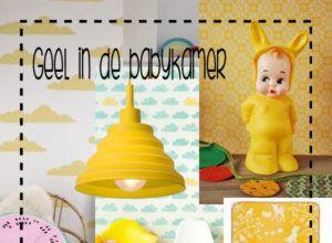 gele babykamer