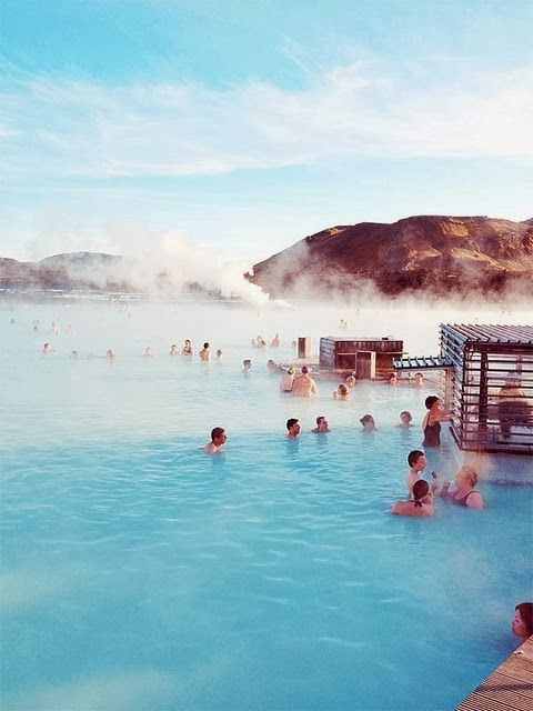 Blue Lagoon, Iceland  One of the most relaxing places I have been