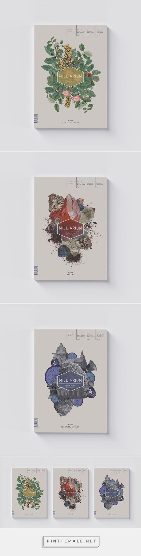 Milliarium Magazine on Behance - created via https://pinthemall.net