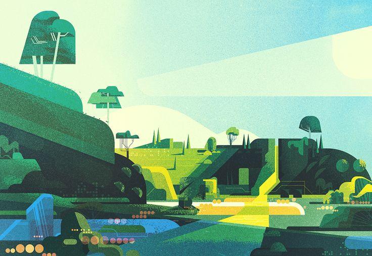 Landscapes on Behance