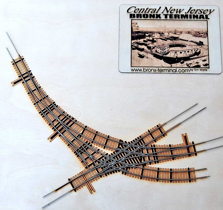 74 best complex trackwork images on pinterest train train tracks and trains - Ho train layouts for small spaces image ...
