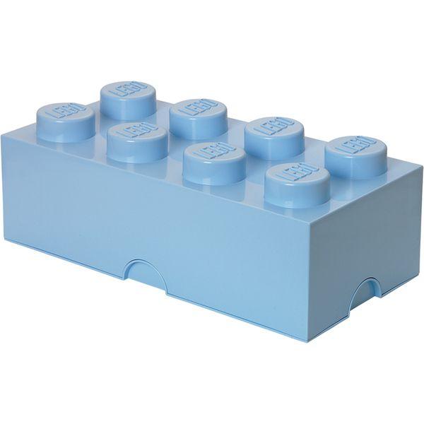 LEGO Storage Brick 8 - Light Blue: Image 01