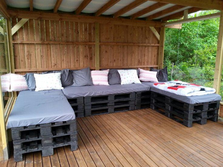 Pallet# couch# Euro-lavoista sohva