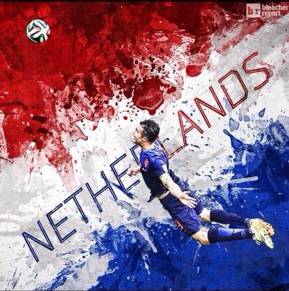 The Flying Dutchman...Robin van Persie!!!