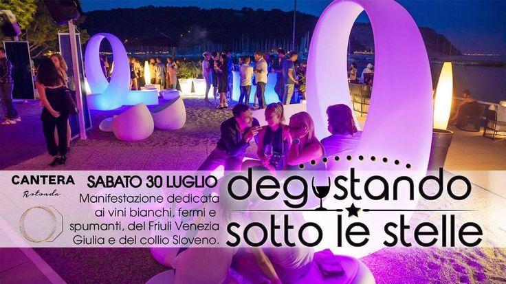 Sabato 30 #luglio la Baia di #Sistiana sarà lo splendido teatro naturale di una degustazione unica: più di 30 tra le migliori aziende vinicole e gastronomiche del territorio riunite per un simposio del gusto che vi delizierà. Naturalmente...ci siamo anche noi!   Itinerari del Gusto   #cottomase #cottotrieste #saporiautentici #madeintrieste #eventi #estate #summer #beach #sistiana #cantera #vietatomancare