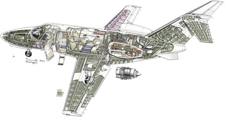 Cessna Mustang | Cutaways - Aircrafts | Pinterest | Mustanger