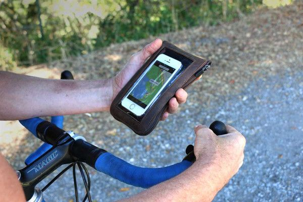 Cycling Ride Pouch   So you can find your way back!   Holds tools, phone, cash   http://www.sfbags.com/products/cycling-ride-pouch