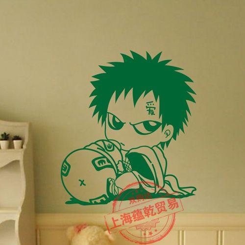 Наруто термоаппликации японский мультфильм наруто наклейки стены декор стен декор дома наруто наклейка
