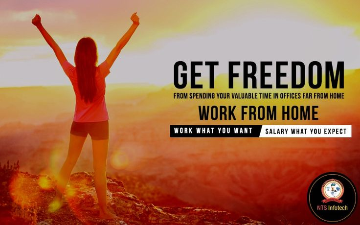 Get freedom from spending your valuable time in offices far from home. Please visit us- www.ntsinfotechindia.com