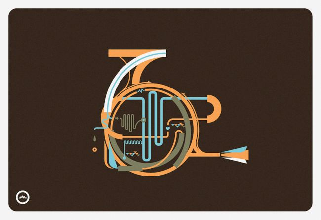 French Horn by Leandro Castelao