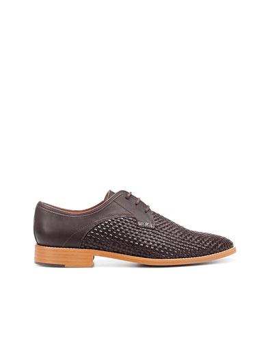 BRAIDED BLUCHER - Shoes - Man - ZARA United States