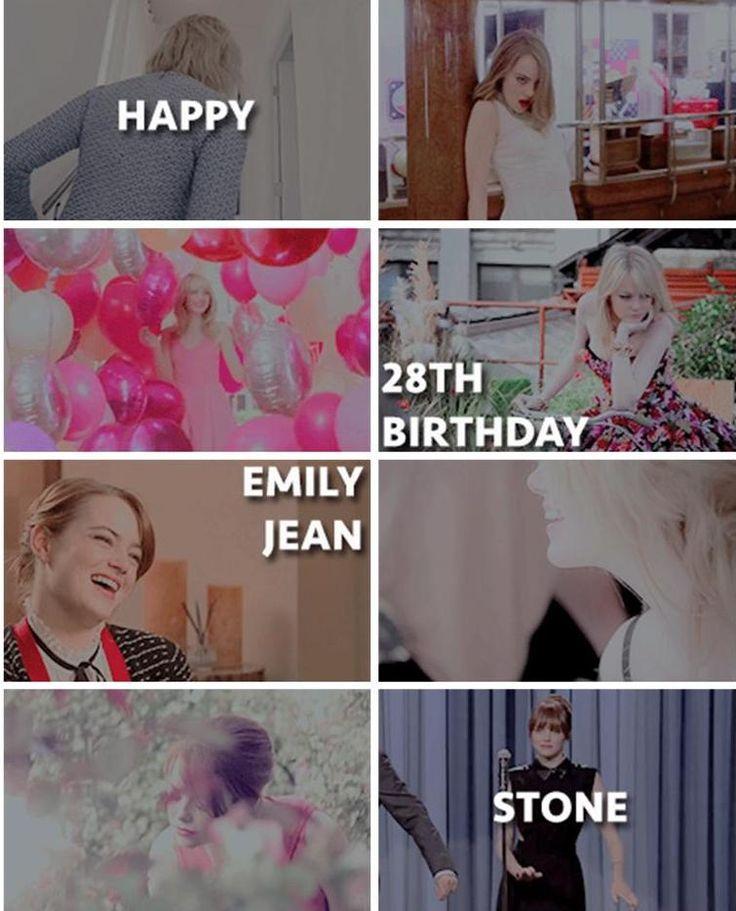 Happy 28th Birthday Emma Stone!!! Happy 28th birthday