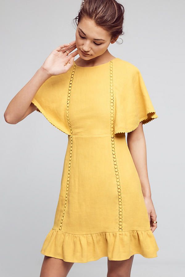 Shop the Fluttered & Flounced Dress, Yellow and more Anthropologie at Anthropologie. Read reviews, compare styles and more.