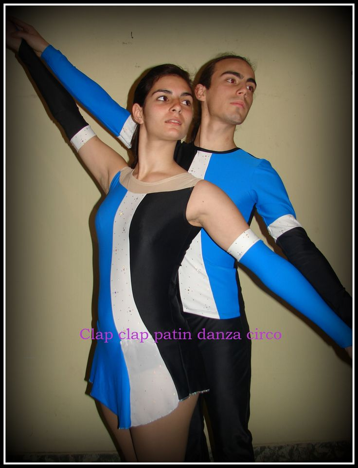 Vestuario para pareja de patin artistico