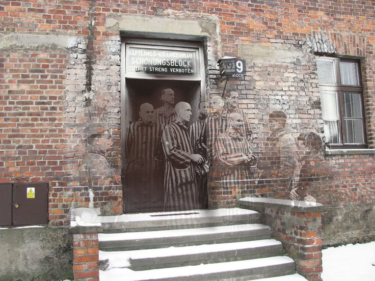 Auschwitz, Poland | 9 Haunting Then-And-Now Photos Of World War II Europe -- created by Jo Teuwisse