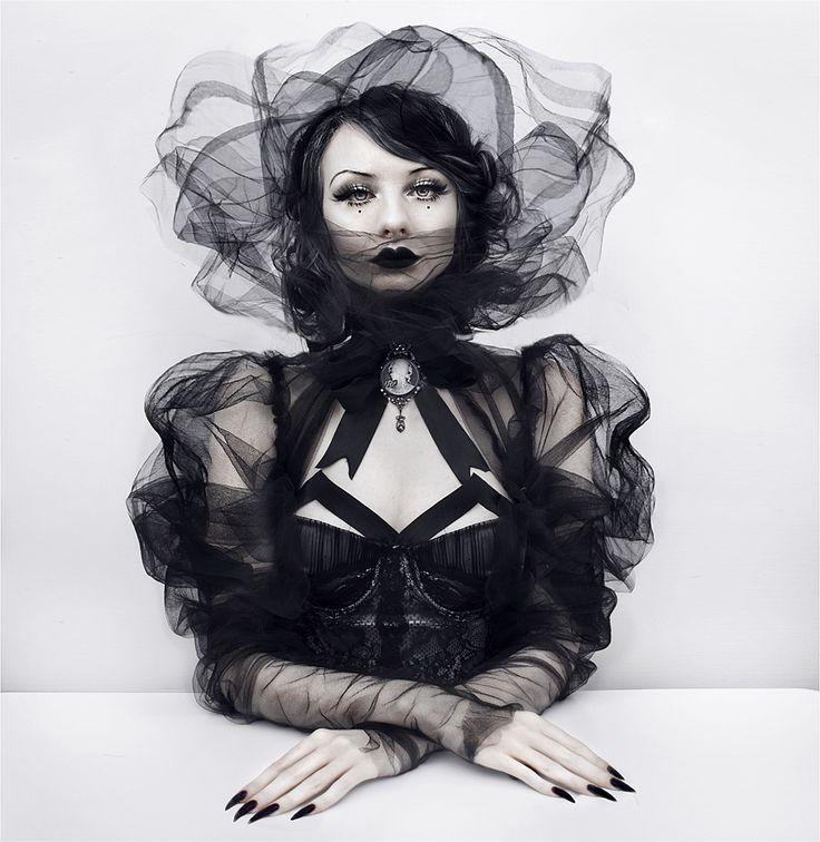 "darkbeautymag:""Wild Rose"" — Photographer/Model: The Wild Rose's Mesmerizing Stories"