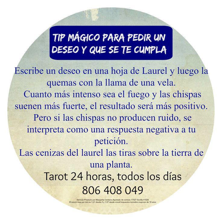 Consejo Mágico para pedir un Deseo y que se Cumpla   ~ TAROT con Margui Centeno