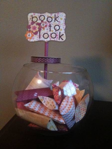 Razzleberry Book to Look Jar by courtney8818 - Cards and Paper Crafts at Splitcoaststampers