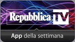Repubblica TV: la internet tv del quotidiano La Repubblica, uno dei più importanti quotidiani italiani, disponibile su Smart tv, smartphone e tablet. Una offerta di contenuti video on demand di alta qualita' su tutti gli argomenti.