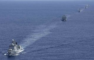 China's North Sea Fleet Continues Combat Training in Northwest Pacific ~ Chinese Military Review