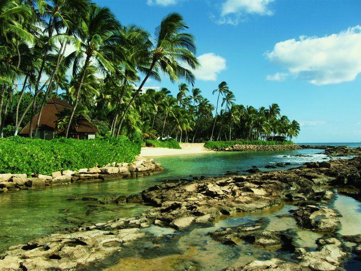 Secret Turtle Beach  Oahu, Hawaii