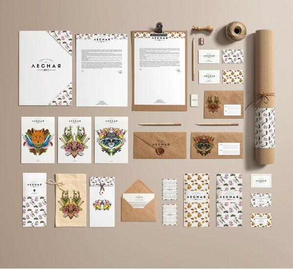 Стиль винтаж в графическом дизайне