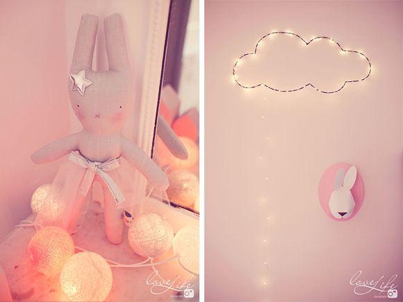 Vieux Rose Et Gris Chambre : La jolie chambre bébé de Zoé  rose, pink, baby room, chambre