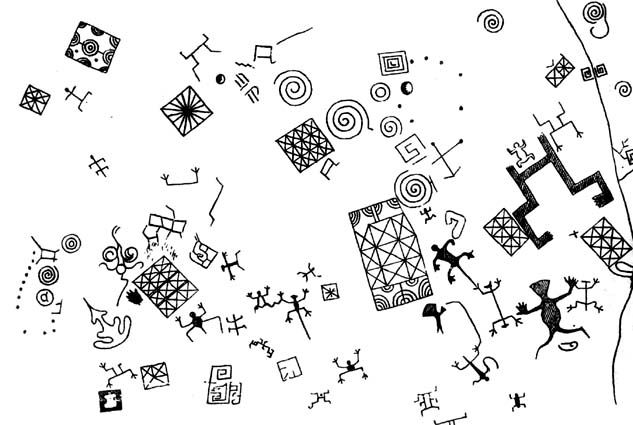 petroglifos de checta ubicacion - Google Search