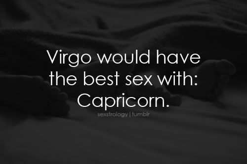 Now to find me a capricorn